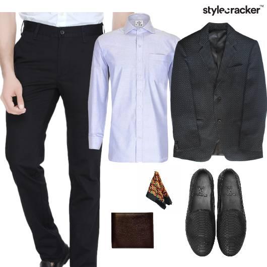 Formals Jacket Trousers Slipons Shirt - StyleCracker