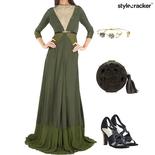 Occasion Gown Clutch Heels - StyleCracker