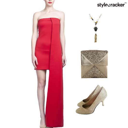 Tube Dress Dinner Party HiShine - StyleCracker