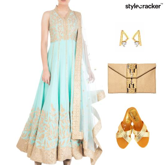 Indian Wedding ReceptionEthnic Clutch - StyleCracker