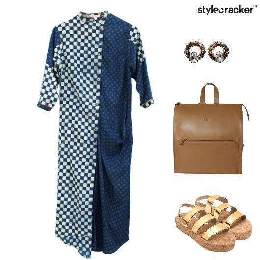 Casual Dress Smart Dayout  - StyleCracker