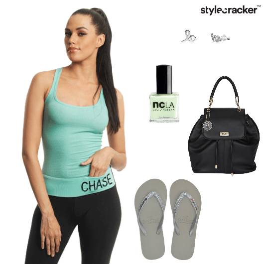 Racerbank Top Trackpants Backpack Yoga - StyleCracker