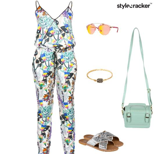 Casual Dayout Lunch  Jumpsuit  - StyleCracker
