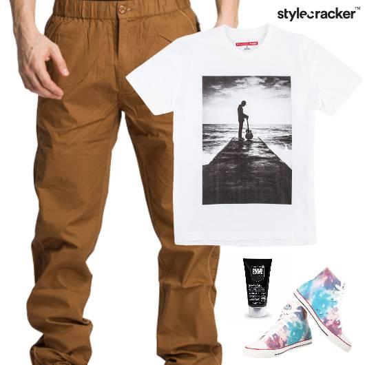 Casual TShirt Graphic HiTop Summer - StyleCracker