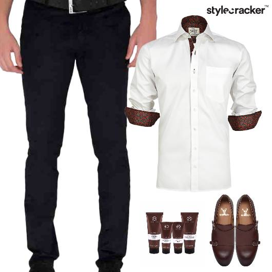 Shirt Trouser SlipOn Work Meeting - StyleCracker