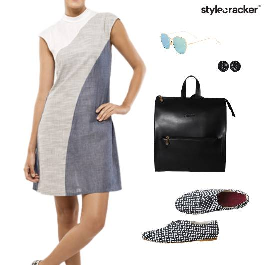 Dress Backpack Sunglass Earrings  College - StyleCracker