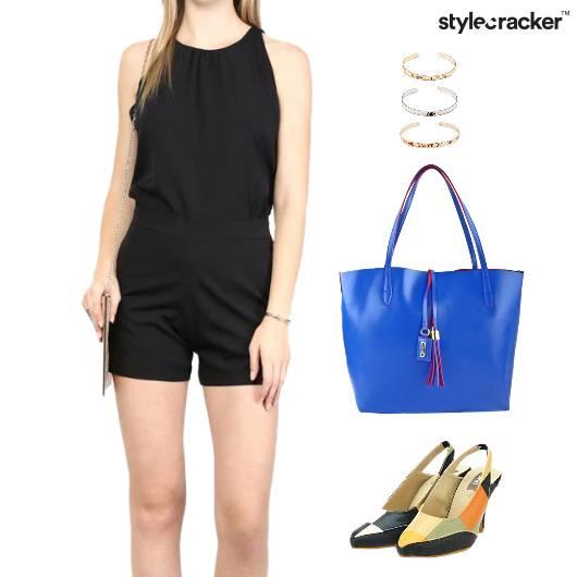 Playsuit ColorBlock Footwear ToteBag Accessories - StyleCracker