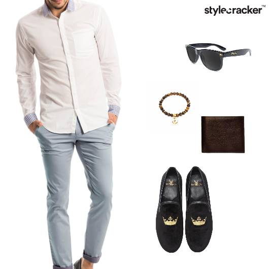 Pants Shirt SlipOns Wallet Bracelet  - StyleCracker