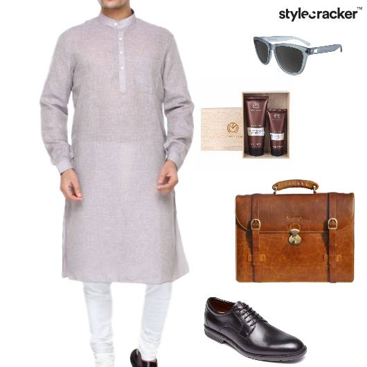 Kurta Handbag Sunglasses Oxfords Ethnic  - StyleCracker