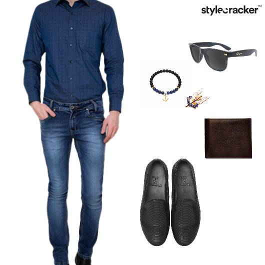 Shirt Denim SlipOn Wallet Sunglass - StyleCracker