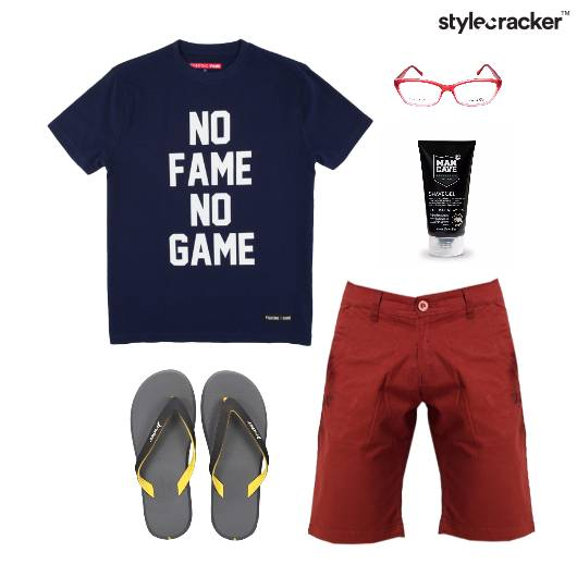 Quoted TShirt FlipFlop Casual Vacation - StyleCracker