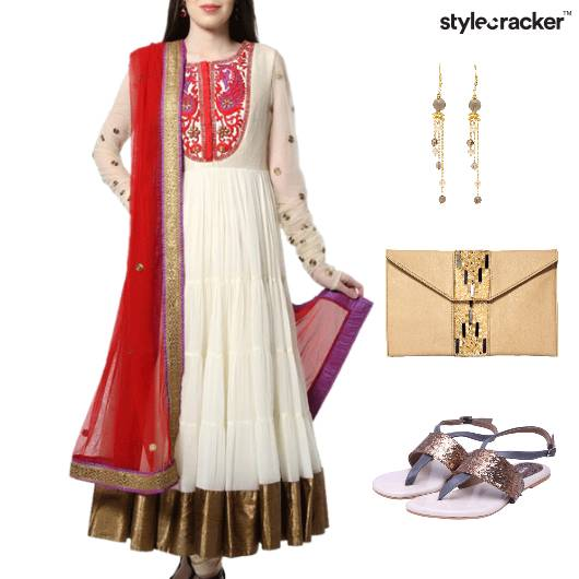 Indian Festive Ethnic Reception Wedding - StyleCracker