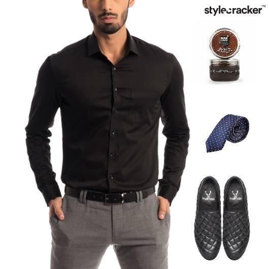 Shirt Chinos SlipOn Dinner Party - StyleCracker