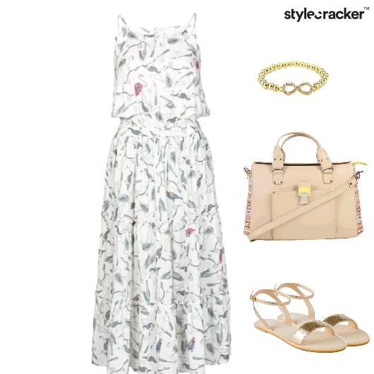 Casual Dress DayOut Flats Movie - StyleCracker