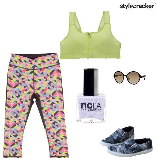Gym WorkOut DayOut Summer - StyleCracker