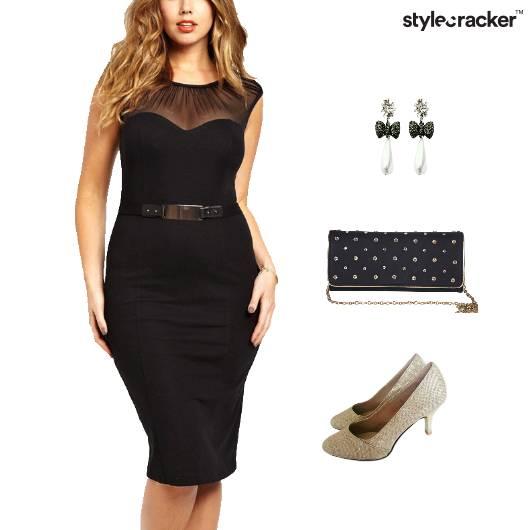Belted Dress Dinner Party Accessories - StyleCracker