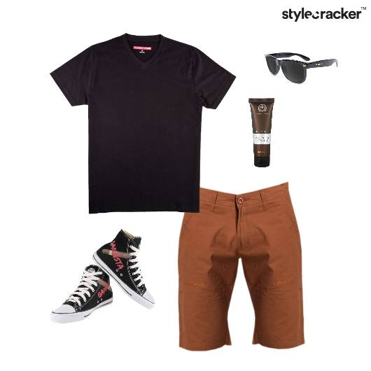 Casual TShirt Vacation HiTop Sporty - StyleCracker