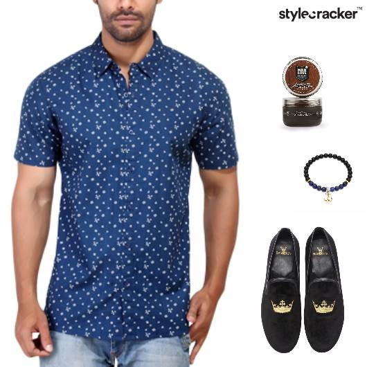 Shirt Jeans Slipons Bracelet Casual Shopping - StyleCracker
