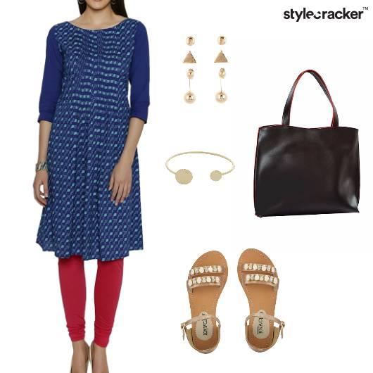 Indian Ethnic Casual Kurta - StyleCracker