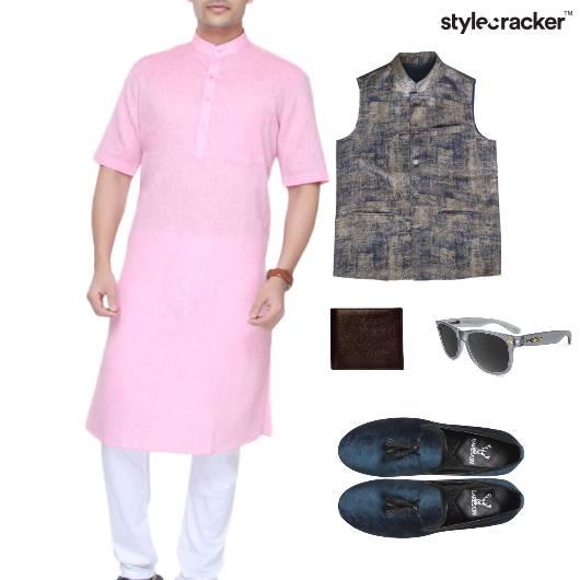 Kurta NehruJacket Wallet Sunglasses Slipons Ethnic - StyleCracker