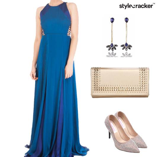 Gown Night Dinner Date Elegant - StyleCracker