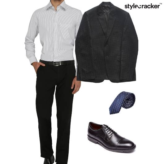 Shirt Chino Blazer Tie Oxfords Formals  - StyleCracker