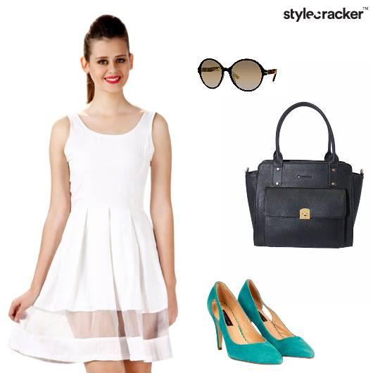 Dress Pumps Handbag Sunglasses Shopping - StyleCracker