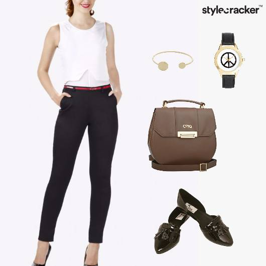 Jumpsuit Monochrome Workwear  - StyleCracker