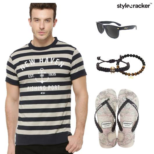Casual Striped Tee  - StyleCracker