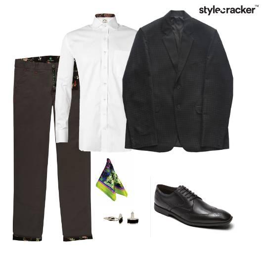 Shirt Blazer Pants Oxfords Formals Party - StyleCracker