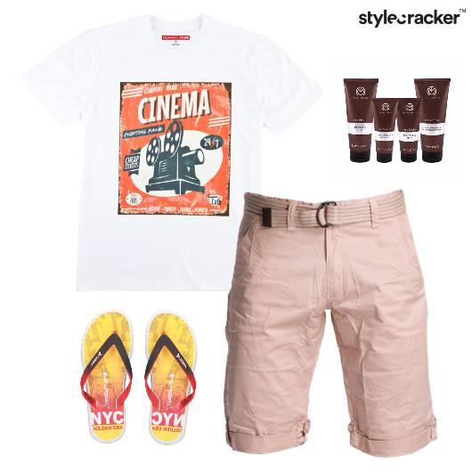 TShirt Casual FlipFlop Vacation Beach - StyleCracker