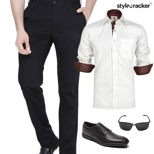 Shirt Trouser Meeting Lunch Print - StyleCracker
