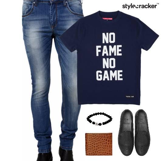 Casual Quoted TShirt SlipOn Footwear - StyleCracker