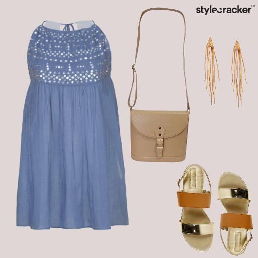 Casual Day Flats Dress  - StyleCracker