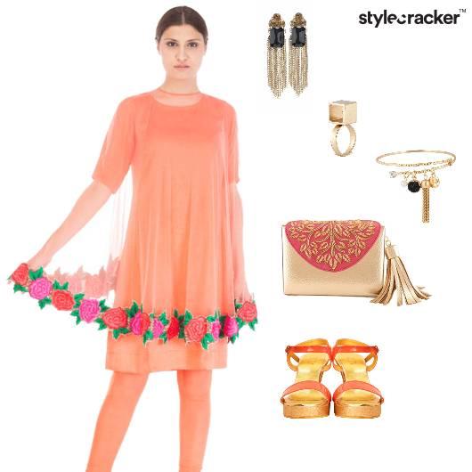 Floral Indian Ethnic Wedding  - StyleCracker