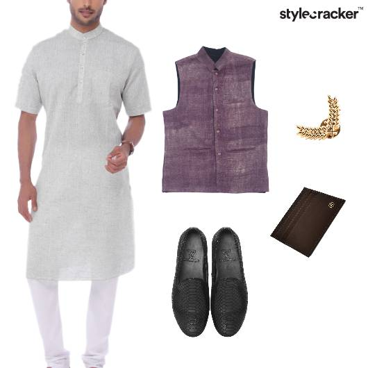 Kurta Jacket Indian Ethnic Wedding - StyleCracker