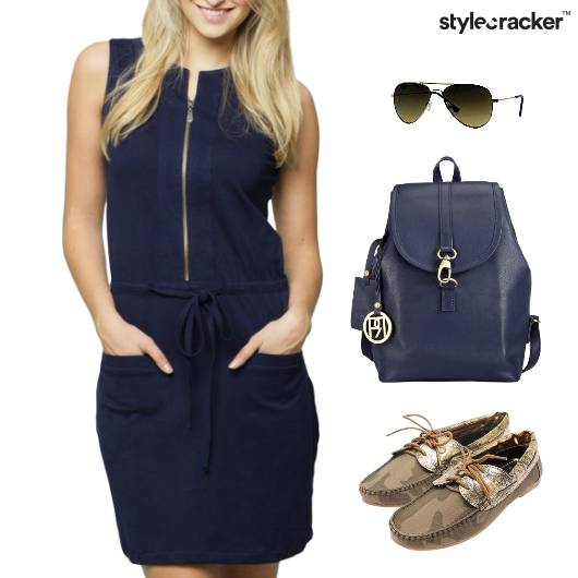 Summer Casual BackPack Aviator Sunglasses - StyleCracker