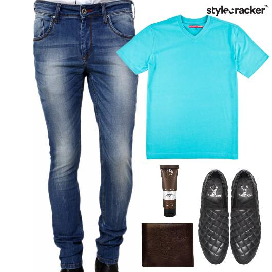 TShirt Denim Casual SlipOn Footwear - StyleCracker