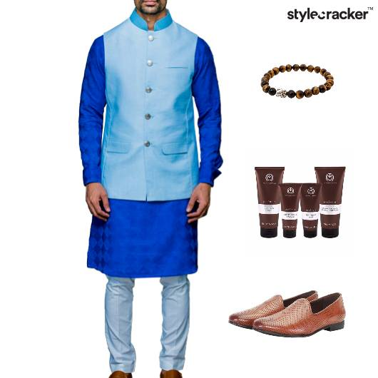 Indian Festive Ethnic GroomingKit Lunch - StyleCracker