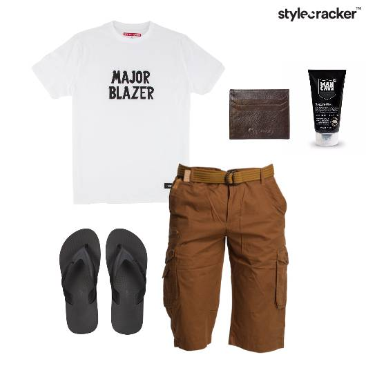 Casual TShirt FlipFlop Grooming Summer - StyleCracker