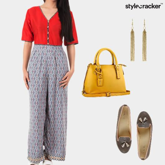 Jumpsuit Prints Casual Loafers  - StyleCracker
