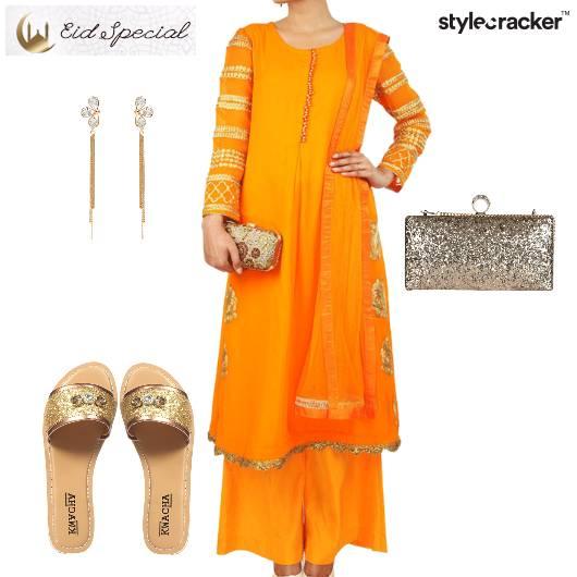 Eid Indian Festive Ethnic Clutch - StyleCracker