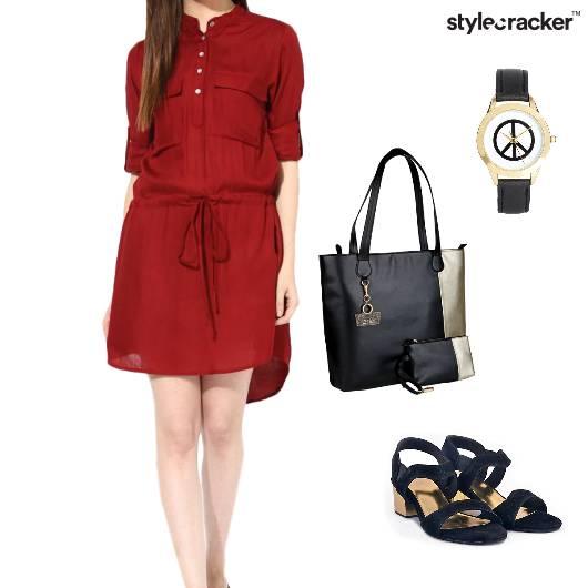 Casual Traveling Trending Dress Dayout - StyleCracker