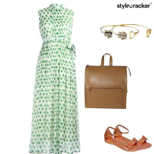 Classy Elegant Dayout Brunch Gown - StyleCracker