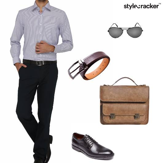 Shirt Chinos Belt Oxfords messengerbag 9to5 - StyleCracker