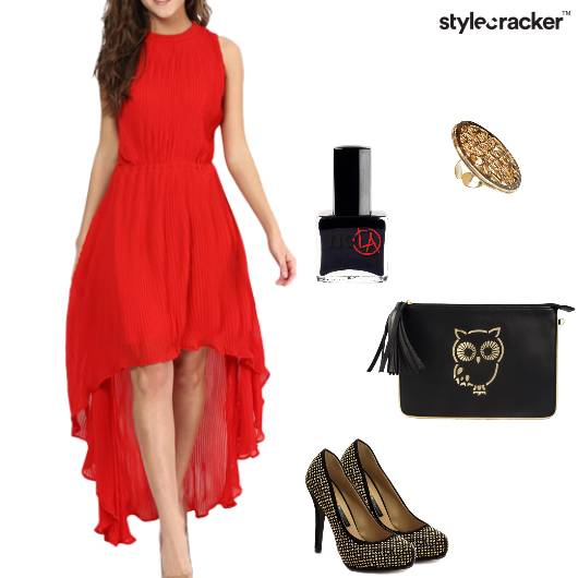 Dress Asymmetric Pumps Clutch Cocktailring Party - StyleCracker