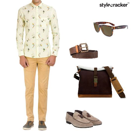 Shirt Chinos Loafers Casual HouseParty - StyleCracker