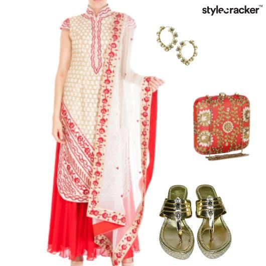 Indian Traditional Occasion Wedding Ethnic - StyleCracker