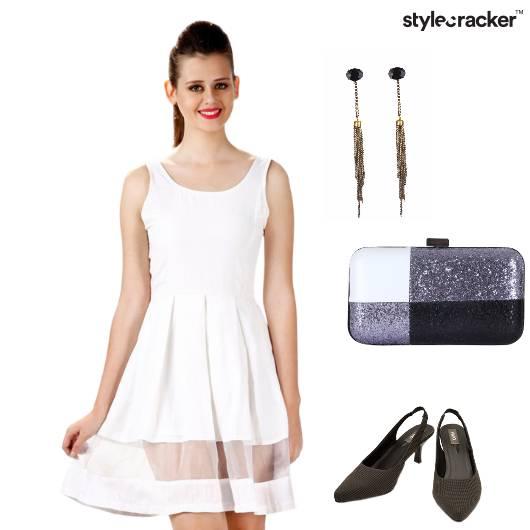 Dress Skater Lunch Weekend Clutch - StyleCracker