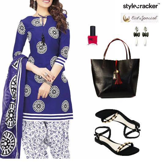 Eid Indian Festive Ethnic Flats Work - StyleCracker